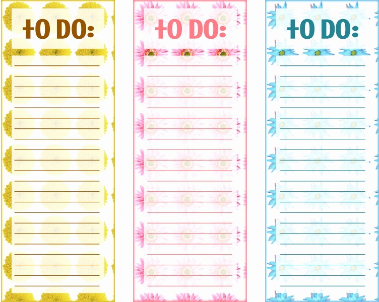 Printable to Do List Template Lovely 40 Printable to Do List Templates
