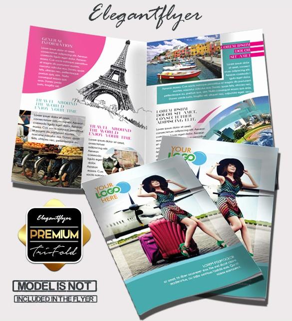 Printable Tri Fold Brochure Template Best Of Tri Fold Brochure Templates 44 Free Word Pdf Psd Eps