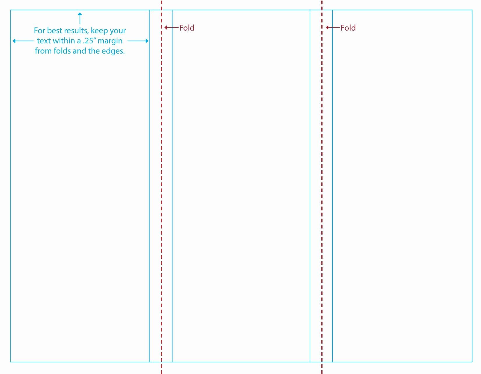 Printable Tri Fold Brochure Template Elegant Blank Tri Fold Brochure Template Bamboodownunder