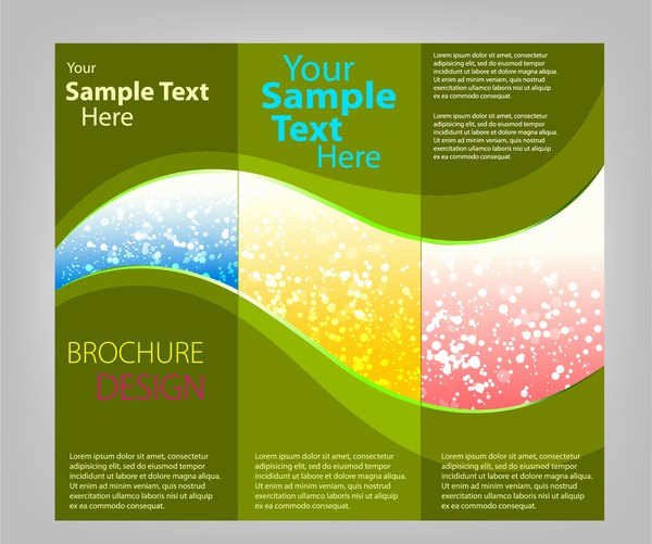 Printable Tri Fold Brochure Template Elegant Tri Fold Brochure Template Free Vector 16 992
