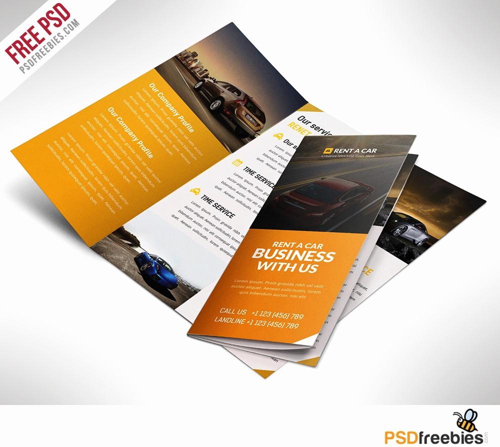 Printable Tri Fold Brochure Template Inspirational 16 Tri Fold Brochure Free Psd Templates Grab Edit & Print