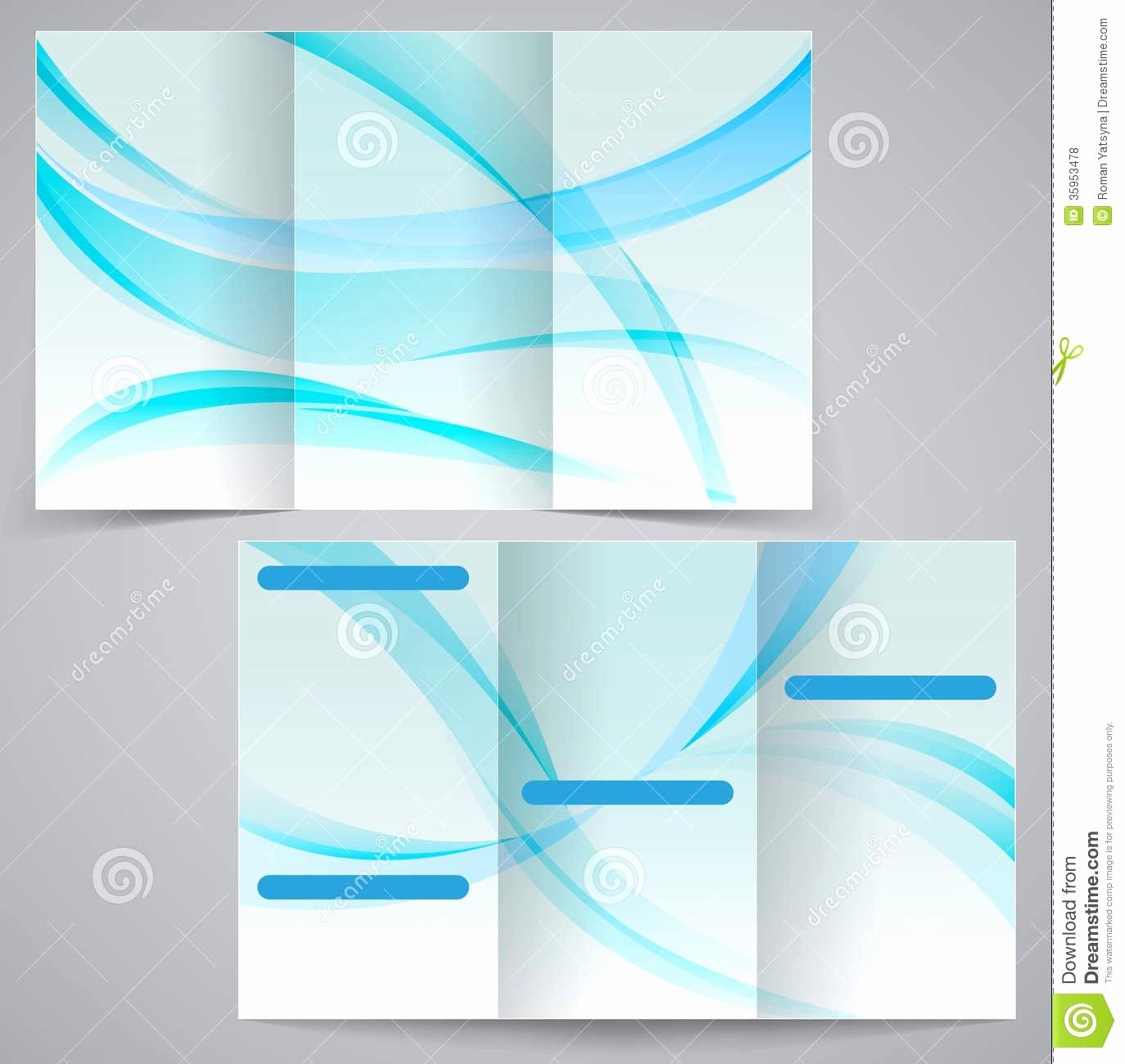Printable Tri Fold Brochure Template Inspirational Blank Brochure Template Word Example Mughals