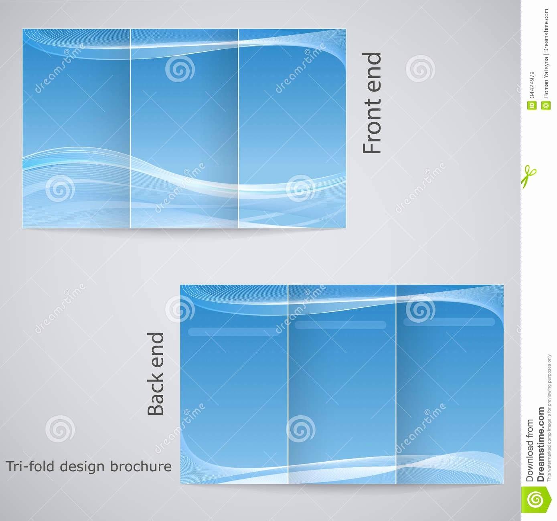 Printable Tri Fold Brochure Template Inspirational Blank Tri Fold Brochure Template Example Mughals