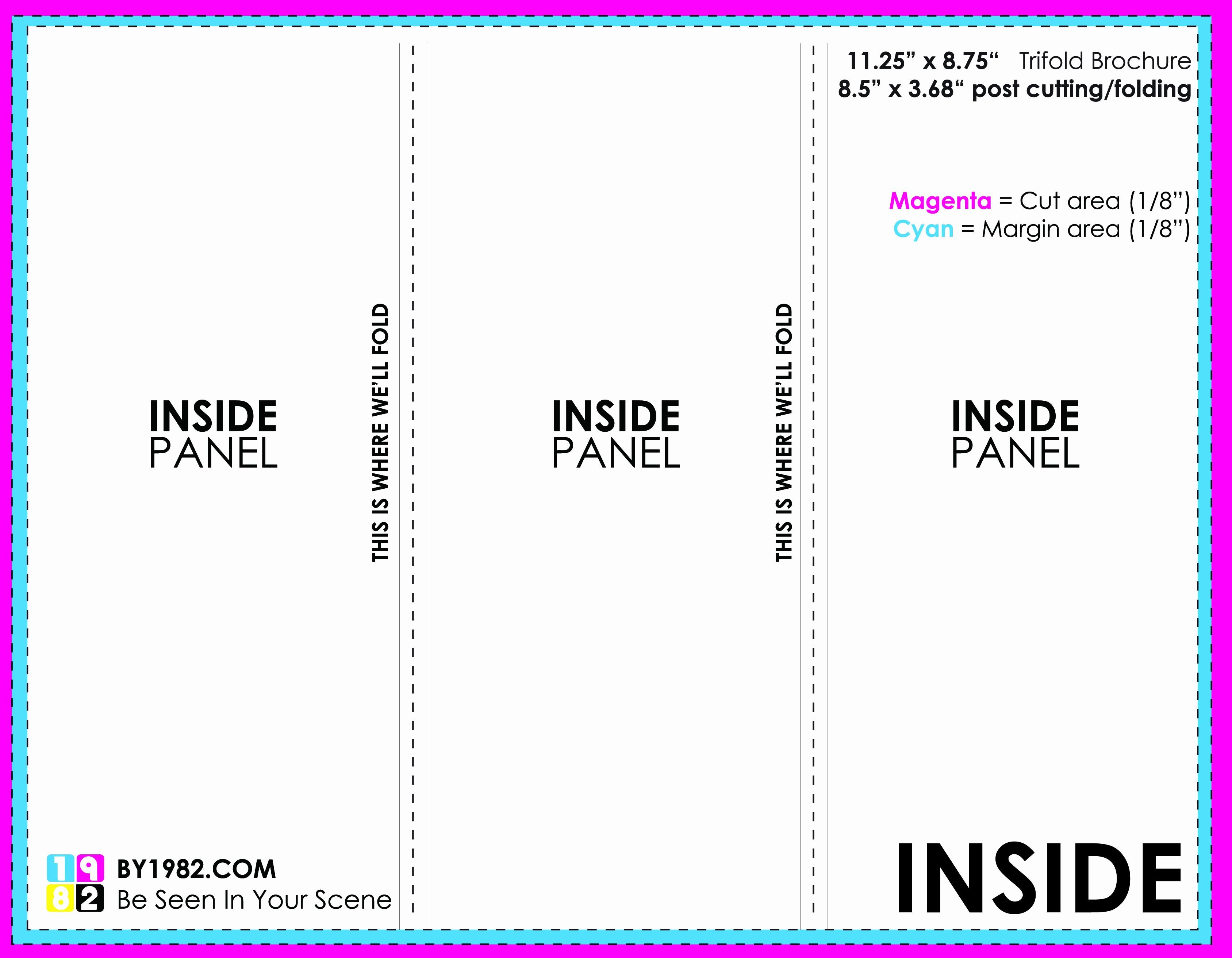 Printable Tri Fold Brochure Template Inspirational Tri Fold Brochure Template Word
