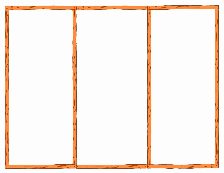 Printable Tri Fold Brochure Template Lovely Blank Tri Fold Brochure Template Example Mughals