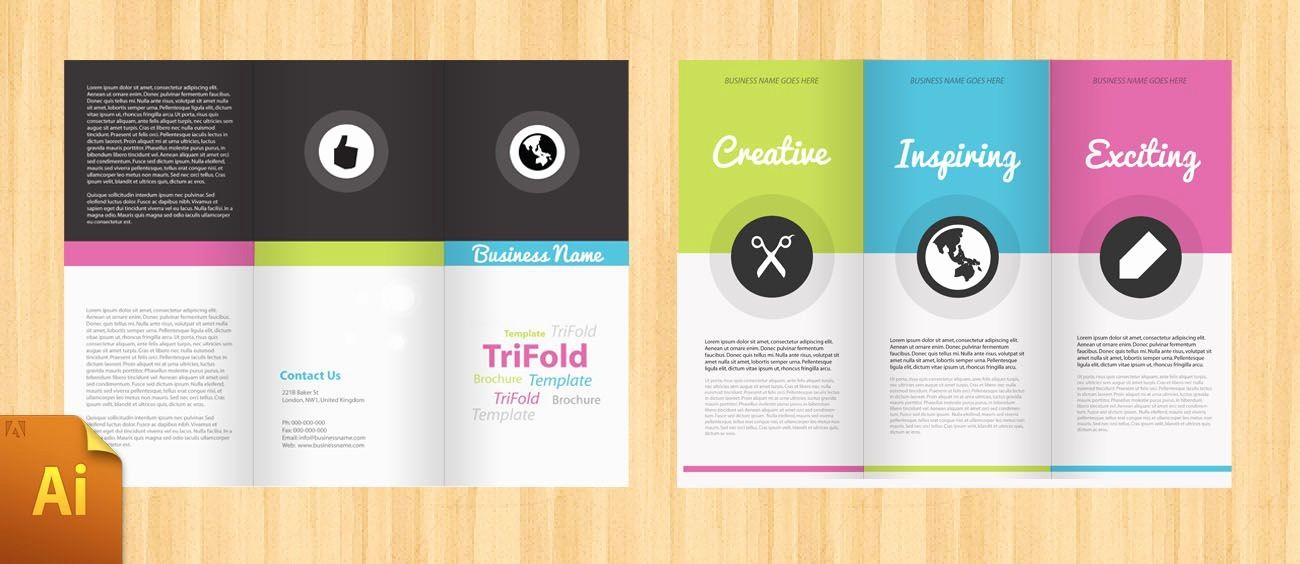 Printable Tri Fold Brochure Template New Free Corporate Tri Fold Brochure Template