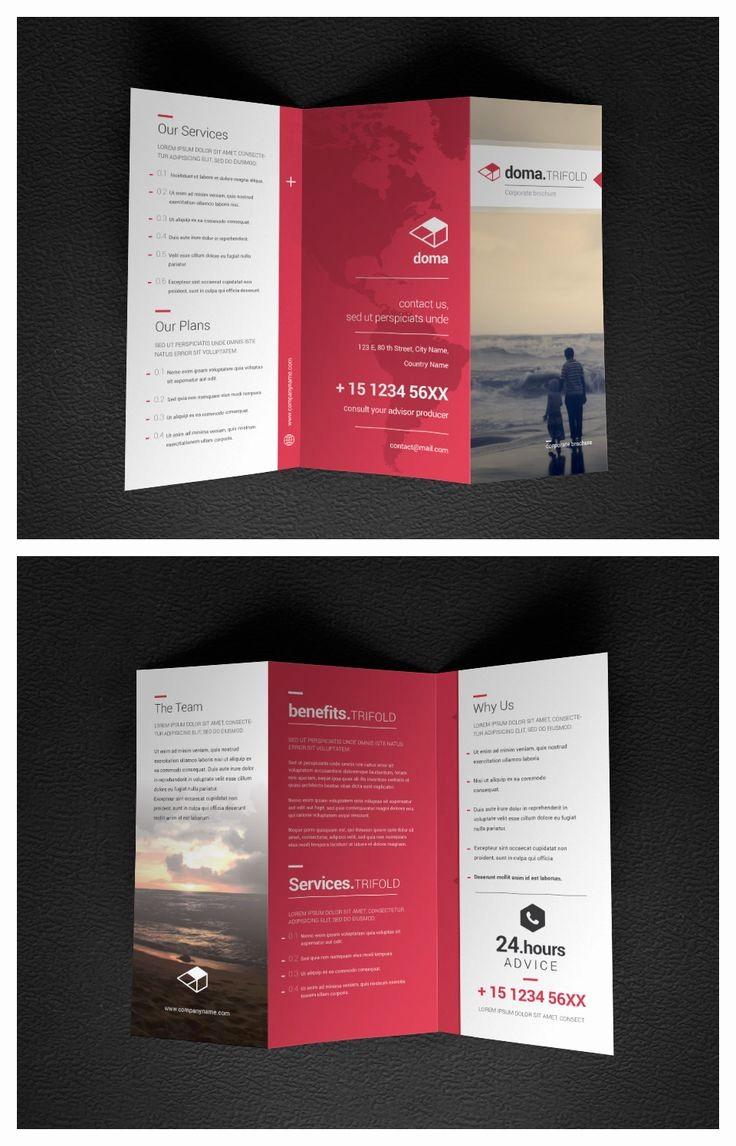 Printable Tri Fold Brochure Template Unique Best 25 Tri Fold Brochure Template Ideas On Pinterest