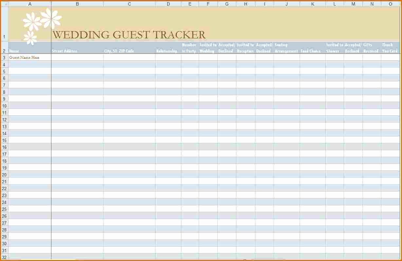 Printable Wedding Guest List organizer Best Of 6 Wedding Guest List Printable