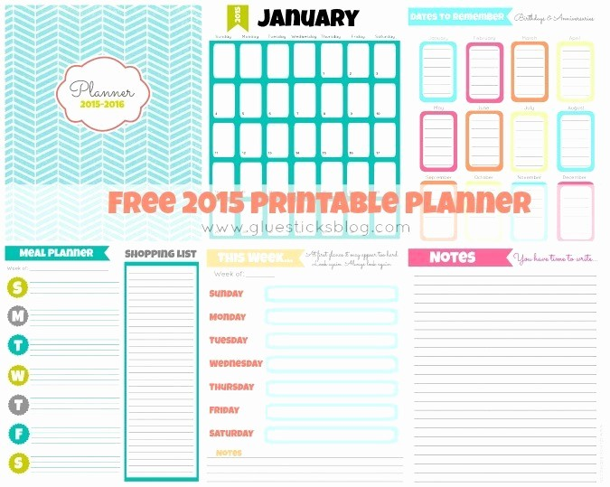 Printable Weekly Calendars with Times Lovely Free Printable 2015 Planner