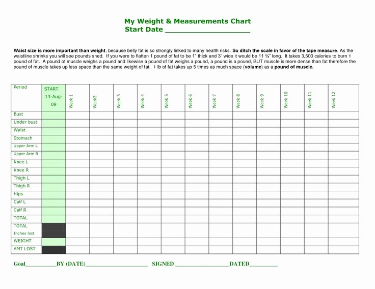 Printable Weight Loss Measurement Chart Awesome Best 25 Body Measurement Chart Ideas On Pinterest
