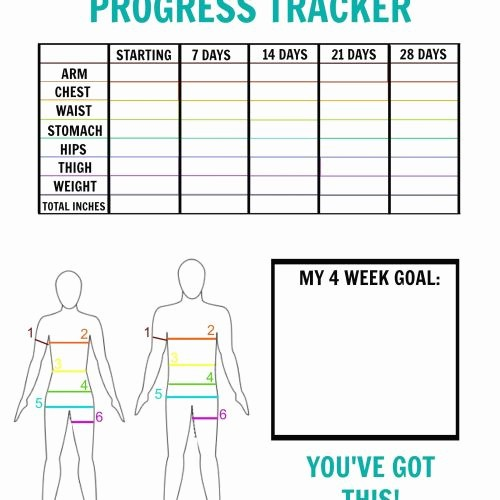 Printable Weight Loss Measurement Chart Awesome Weight Loss Tracker Chart Chart Designs Template