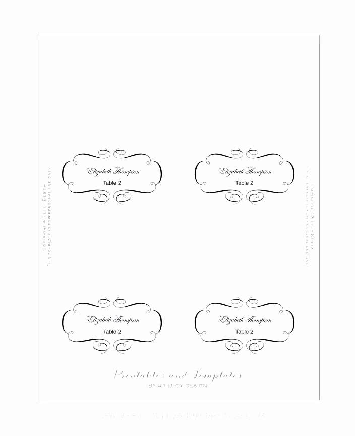 Printing Tent Cards In Word Lovely Place Cards Template In Free Card Word Table Tent