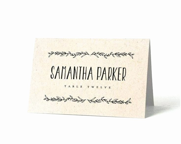 Printing Tent Cards In Word New Wedding Name Cards Template Card Design Avery Table