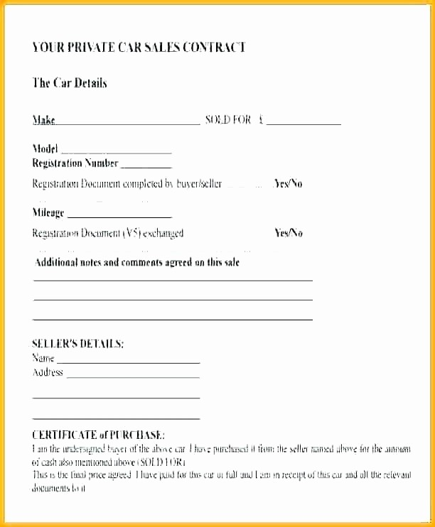 Private Car Sale Receipt Template Best Of Private Invoice Template – Flybymedia