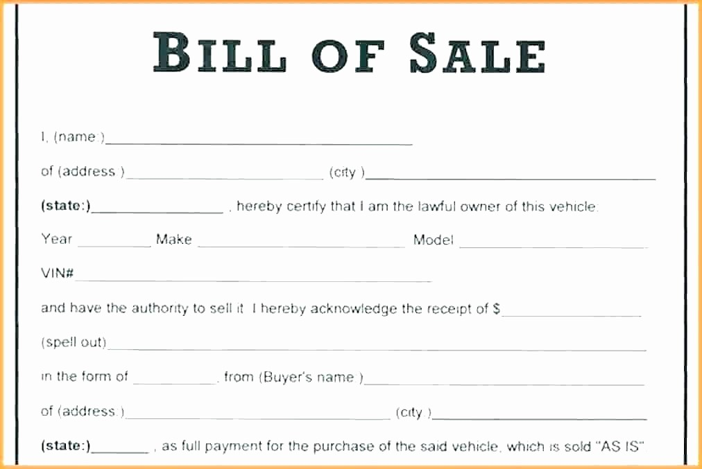 Private Car Sale Receipt Template New Car sold as is Template Used Sale Letter Receipt form In