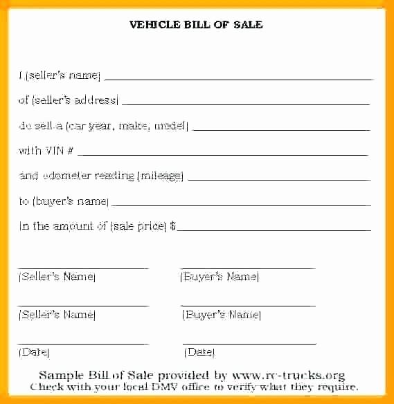 Private Car Sales Receipt Template Inspirational Private Car Sale Receipt Template Vehicle Receipt Template