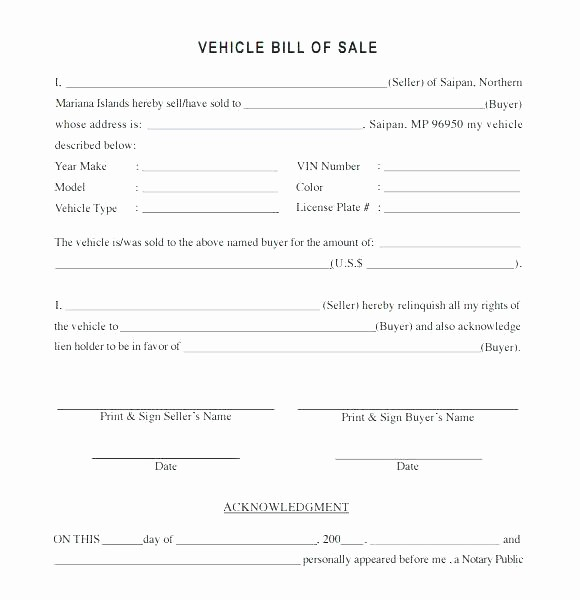 Private Party Car Sales Receipt Inspirational Bike Purchase Agreement Motorcycle Contract Template