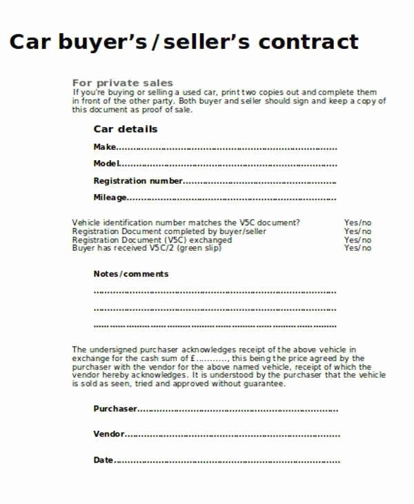 Private Party Car Sales Receipt Luxury Private Car Sale Agreement Template Sales Receipt Template