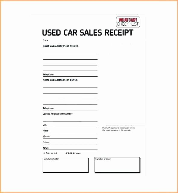 Private Party Car Sales Receipt Luxury Receipt for Private Car Sale – Entruempelungub