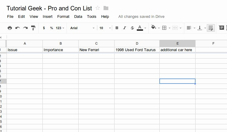 Pro and Con List Template Fresh How to Make An Effective Pro and Con List Using A
