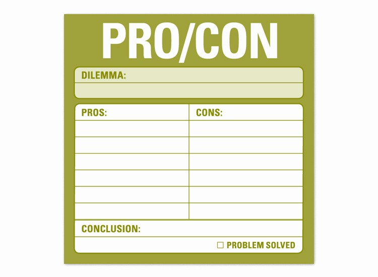 Pro and Con List Template Unique I Finished A Series On Netflix W What