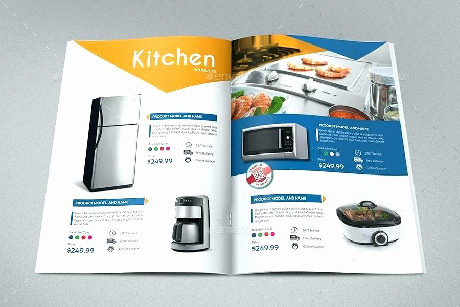 Product Catalog Template Free Download Beautiful Catalog Template Free Product Psd Flyer – Flybymedia