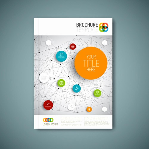 Product Catalog Template Free Download Elegant Brochure Cover Design Free Vector 6 404 Free