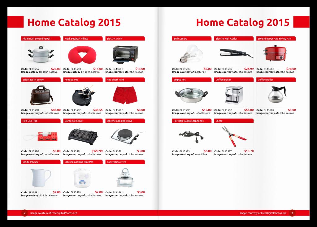 Product Catalog Template Free Download Luxury Contoh Desain Katalog Percetakan Line