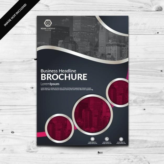 Product Catalog Template Free Download Unique Brochure Template Design Vector