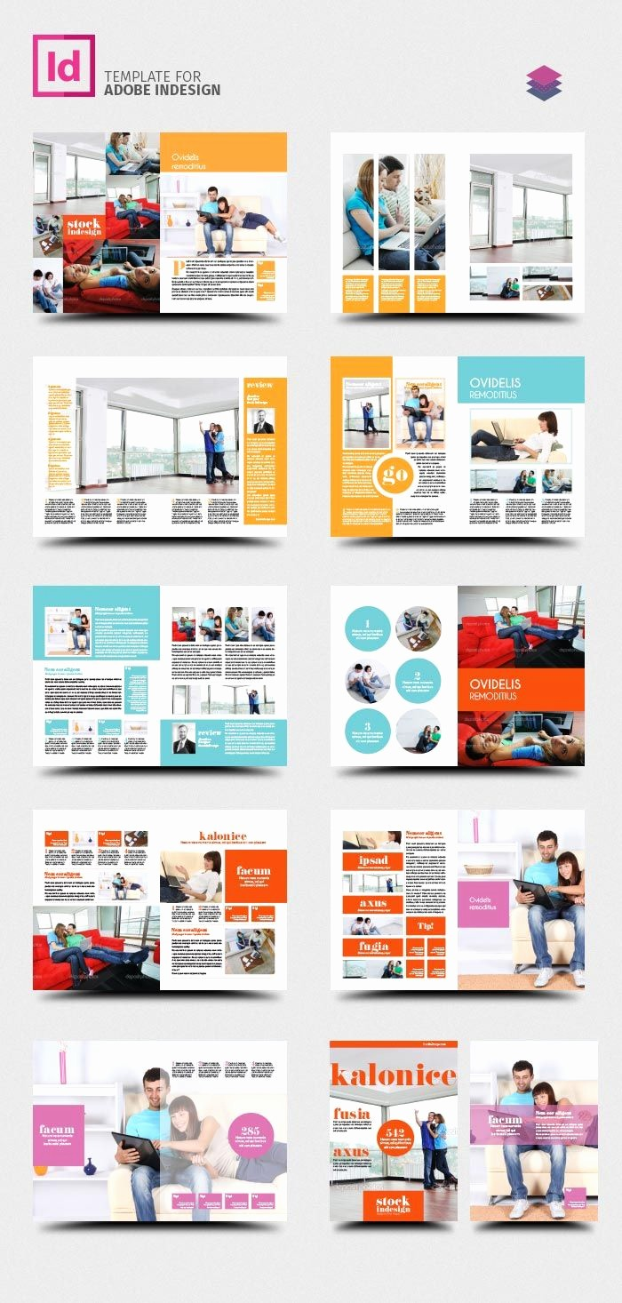 Product Catalog Template Free Download Unique Free Indesign Pro Magazine Template Kalonice