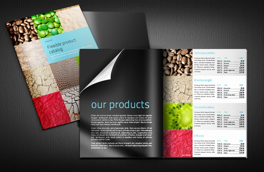 Product Catalogue Templates Free Download Awesome Indesign Catalogue Templates High Quality Product Design