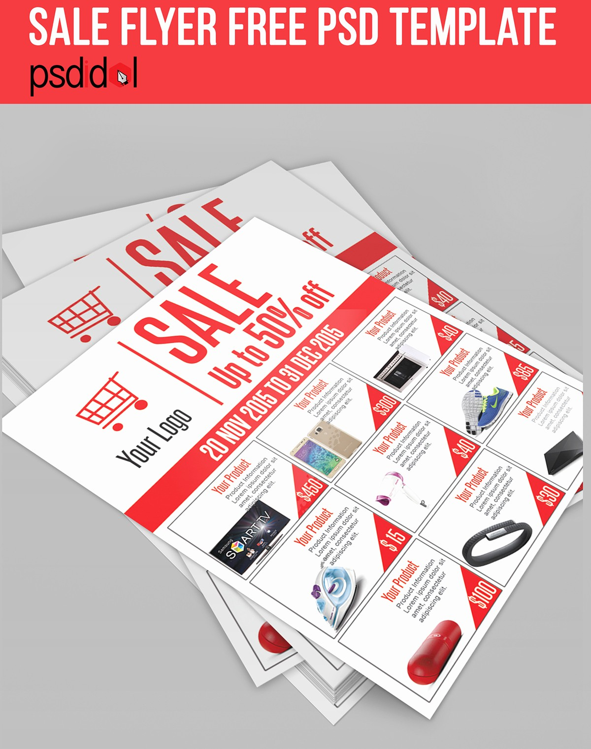 Product Catalogue Templates Free Download Beautiful Sale Flyer Free Psd Template Download On Behance