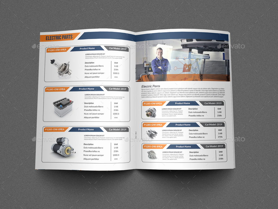Product Catalogue Templates Free Download New 26 Of Parts Catalog Template