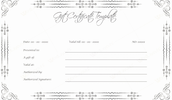 Professional Certificate Templates for Word Inspirational 10 Gift Certificate Templates to Appear Professional