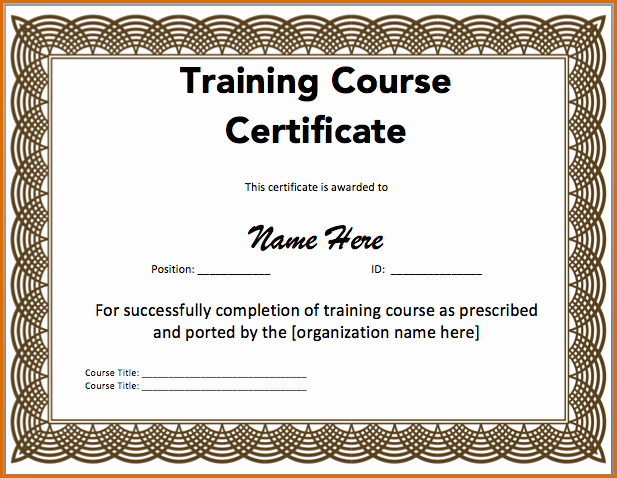 Professional Certificate Templates for Word Unique 10 Blank Printable Blank Certificates
