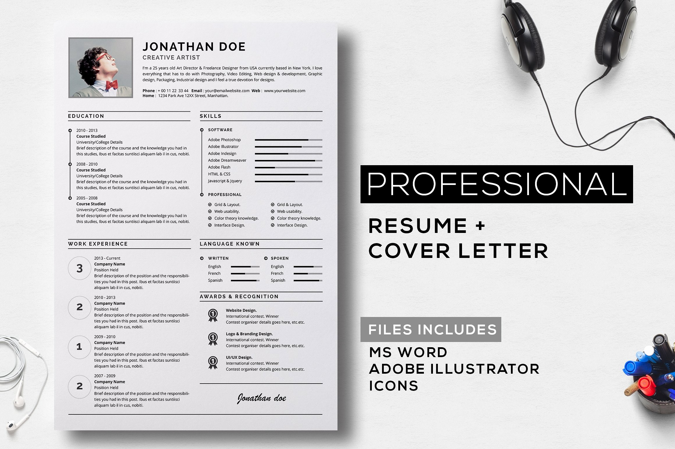 Professional Cover Letters for Resume Elegant Professional Resume Cover Letter Resume Templates