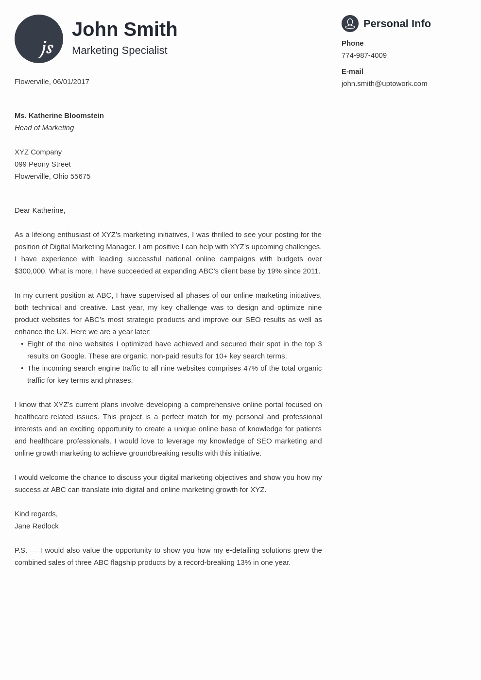 Professional Cover Letters for Resumes Fresh 20 Cover Letter Templates Fill them In and Download In 5