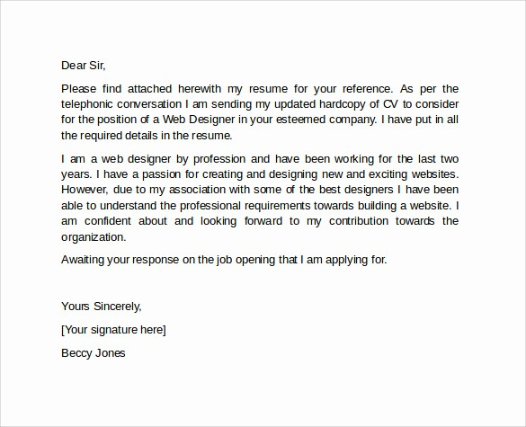 Professional Cover Letters for Resumes Lovely 10 Professional Cover Letter Template Examples to Download