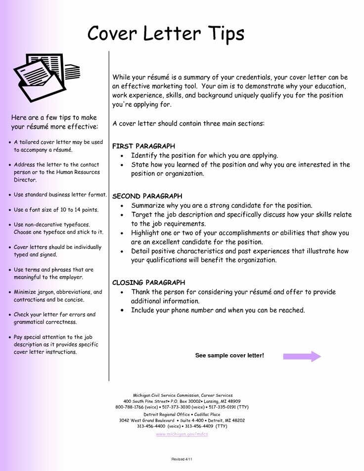 Professional Cover Letters for Resumes New Professional Resume Cover Letter