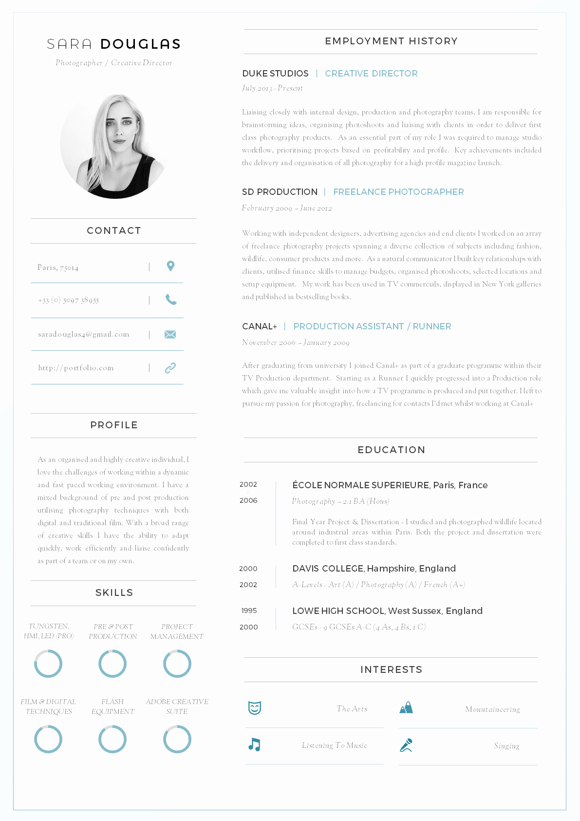 Professional Curriculum Vitae Template Download Beautiful 43 Modern Resume Templates