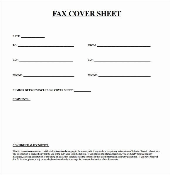 Professional Fax Cover Sheet Pdf Awesome 9 Free Printable Fax Cover Sheet Template St