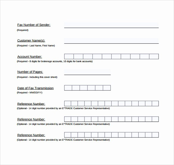 Professional Fax Cover Sheet Pdf Beautiful 14 Sample Generic Fax Cover Sheets