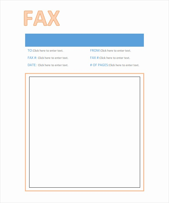 Professional Fax Cover Sheet Pdf Lovely 9 Professional Fax Cover Sheet Templates Free Sample
