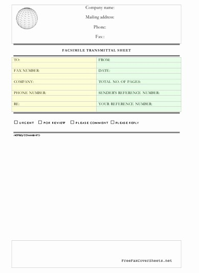 Professional Fax Cover Sheet Pdf Luxury Professional Fax Cover Sheet Fax Cover Sheet at