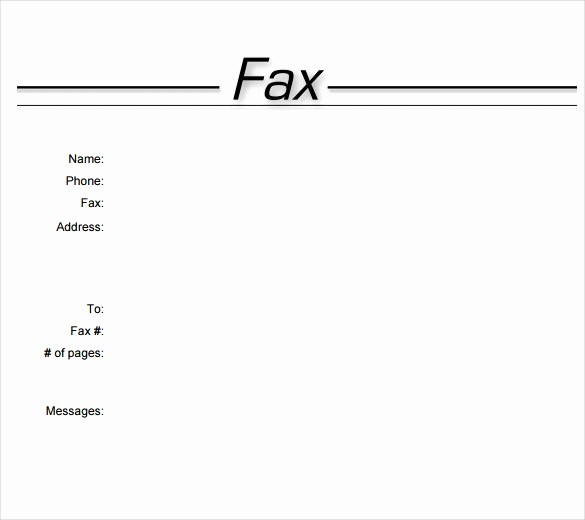 Professional Fax Cover Sheet Pdf New Fax Cover Letter Word Template Lezincdc