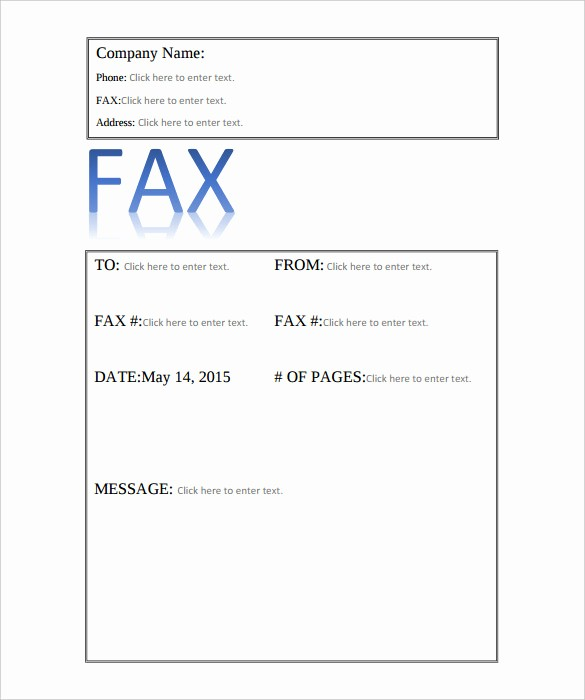 Professional Fax Cover Sheet Template Best Of 9 Professional Fax Cover Sheet Templates Free Sample