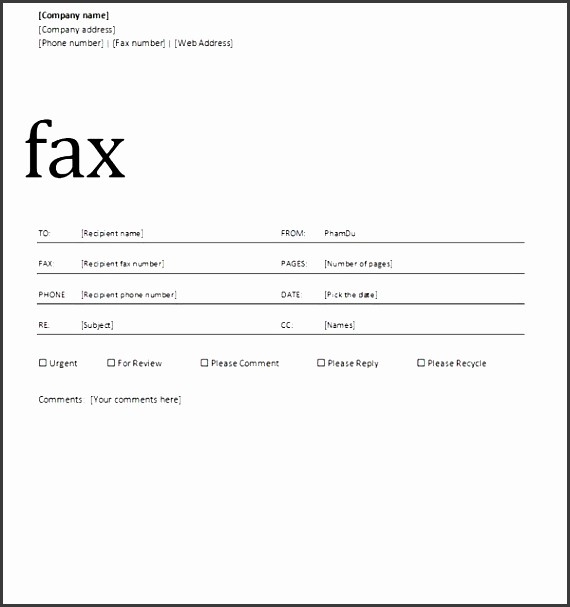 Professional Fax Cover Sheet Template Luxury 9 Professional Fax Cover Sheet Template Sampletemplatess