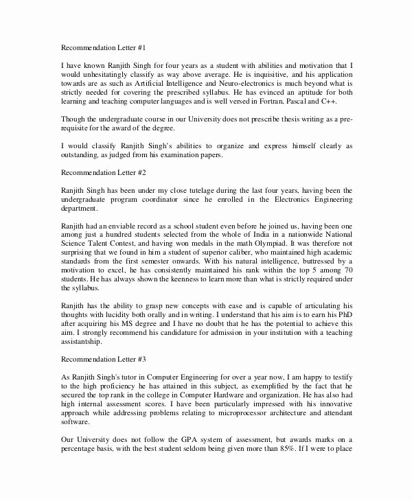 Professional Letter Of Recommendation format New 12 Professional Letter Re Mendation Free Pdf Word