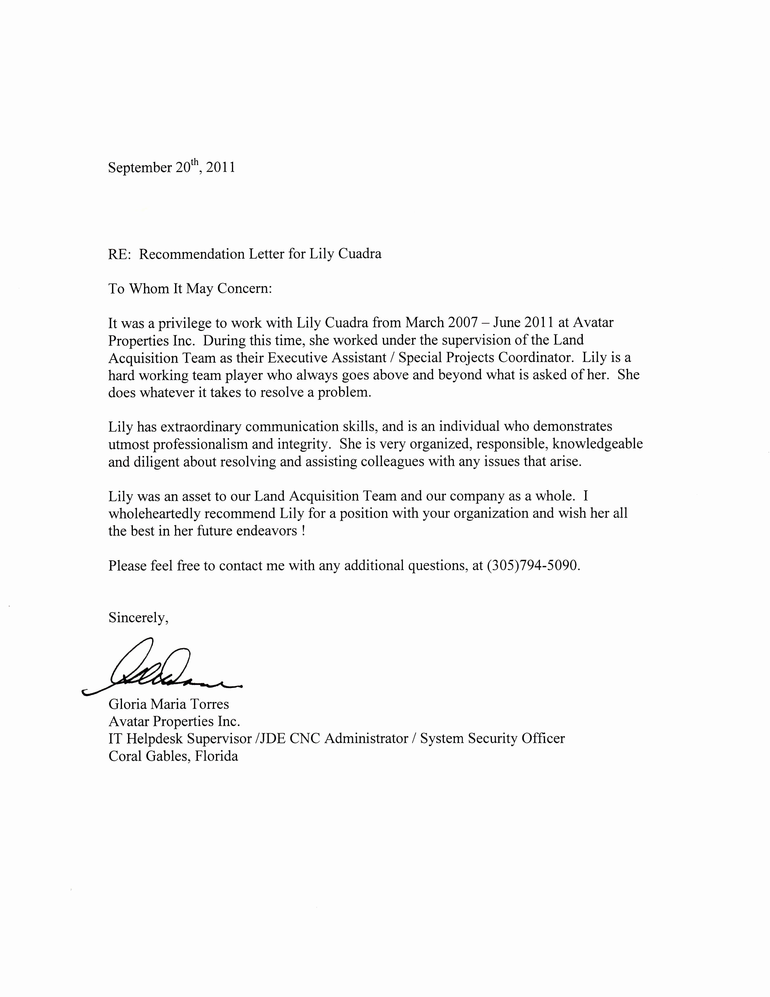 Professional Letter Of Recommendation format Unique Simple Guide Professional Reference Letter with Samples