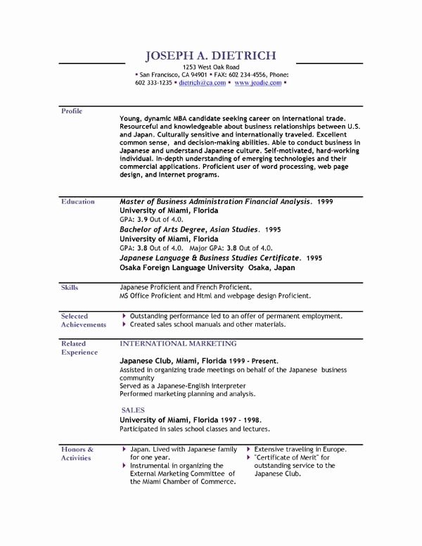 Professional Resume format Free Download Beautiful Professional Resume formats Free Download